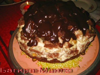 Торт пинчер рецепт с пошагово без сгущенки