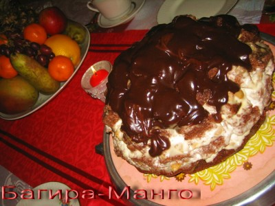 Пинчер кучерявый торт рецепт без сгущенки