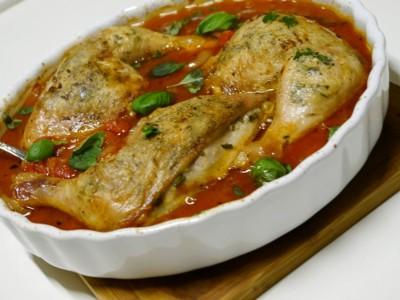 блюда из куриных окорочков с фото
