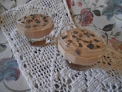 Как приготовить шоколадно кофейный мусс