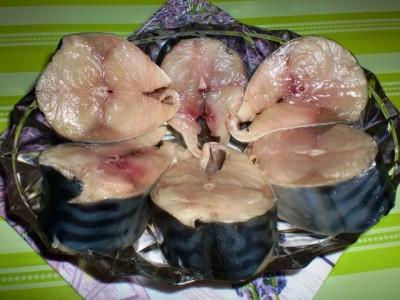 Солёная скумбрия ( диета Дюкан ). : Низкокалорийные рецепты