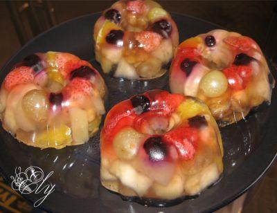 Приготовить желе в домашних условиях с фруктами
