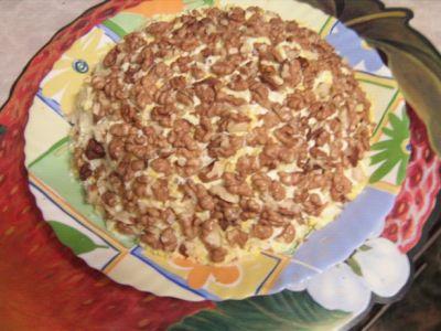 Салат конфетти из кудрявой капусты