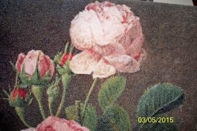 Вышивка крестом голден кайт розы