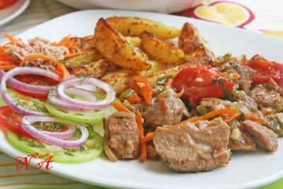 мясо по абхазски рецепт с фото