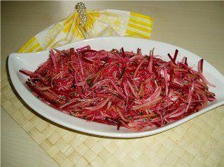 """Салат  """"Дайкон """". острый корейский салат,для него понадобится."""