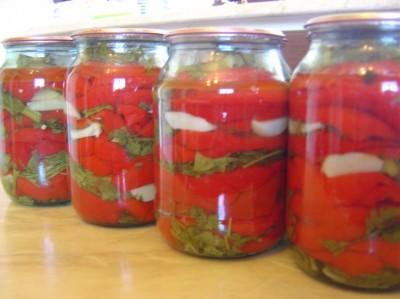 Картинки по запросу маринованный красный перец на зиму