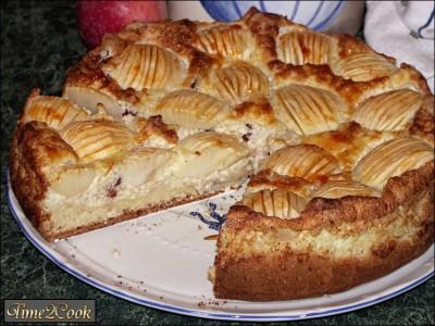 вариант, можно яблочный пирог с рисом вытекают