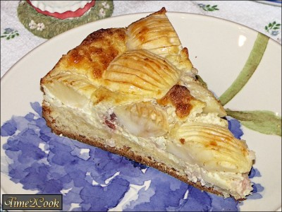 для яблочный пирог с рисом для чего