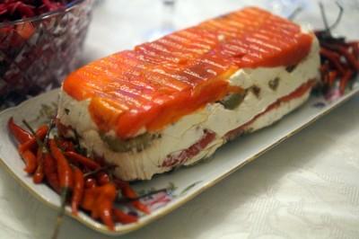 Фруктово желейный торт на сметане фото 6