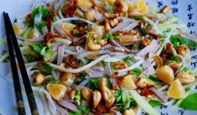 азиатские салат рецепт