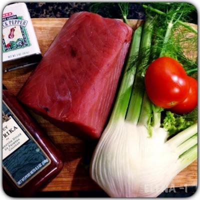 Как приготовить тунца | Запеченный в духовке тунец