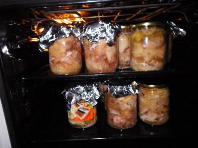 Тушенка в домашних условиях в духовке рецепт с пошагово