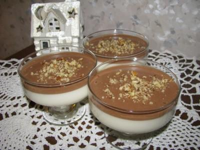 Десерт птичье молоко из сметаны