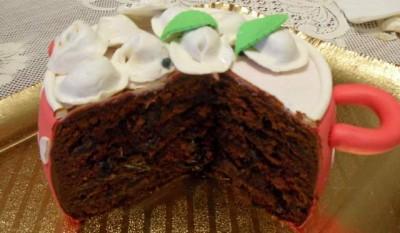 Низкокалорийный фруктовый торт рецепт с фото