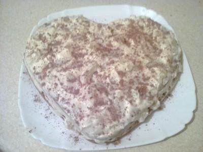 Мой торт-валентинка
