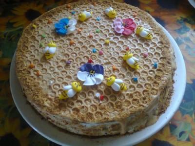 Торт бисквит с маком фото 7