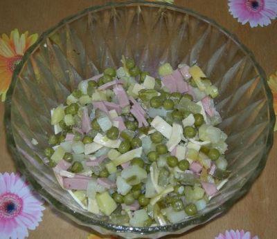 Изображения с тэгом `Как приготовить салат с ветчиной.