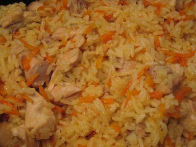 быстрый рецепт плова с курицей