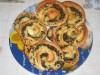 Завитки с грибами и сыром