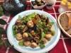 Колбаски в средиземноморском стиле по-быстрому