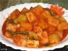 Острый салат из белой редьки