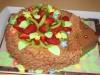 Торт в форме ёжика