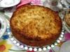 Кокосово-мандариновый творожный пирог