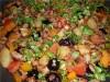 Ужин «Кедрово-виноградный» на скорую руку