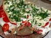 Пирог из лаваша с баклажанами