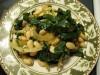 Салат из белой фасоли с зеленью (Fasolia me Horta)