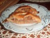 Плетеный пирог с яблоками