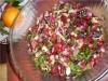 Салатик из свекольных стебельков и листочков