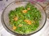 Салатик из шпинатика с бататом