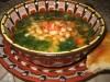 Боб-чорба (фасолевый суп) -болгарская кухня