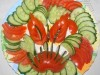 Овощная нарезка - «Дракон»