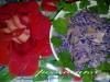 Салат из корнишонов с красной капустой