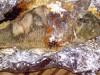 Карп, маринованный в кефире, запеченый в фольге