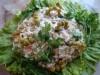 Салат «Незаметные гусенички»