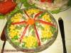 Салат с копченой курицей «Объеденье»