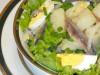 Пряный салат с килькой...