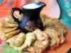 Оладьи с кабачками и творогом