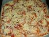 Пицца домашняя, очень сочная