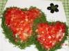 Салат «Два сердца»