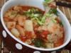 Суп густой томатный картофельно – фасолевый ... из духовки