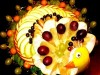 Пицца фруктовая «Павлин»