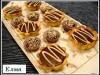Шоколадно-грильяжные корзиночки