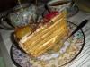 Медовый торт (с манным...