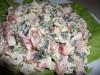 Салат «Мой любимый» (с сыром, помидорами и яицом)