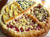 Четырёхцветный фруктовый пирог